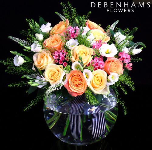 Debenhams Flower Logo