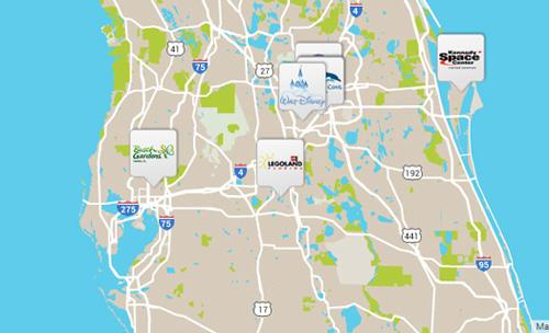 FloridaTix Map