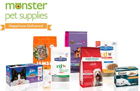 Monster Pet Supplies Logo