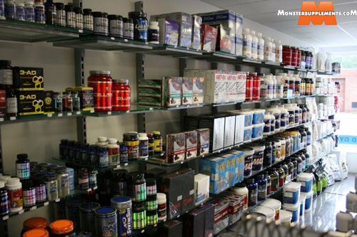 Monster Supplements Store