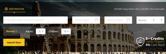 Otel.com Search
