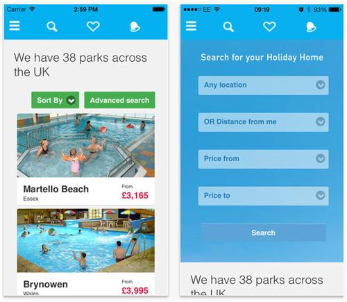 ParkResort MobileApp
