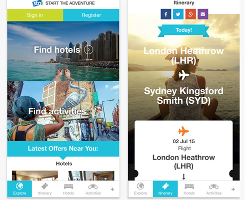 STA Travel Mobileapp