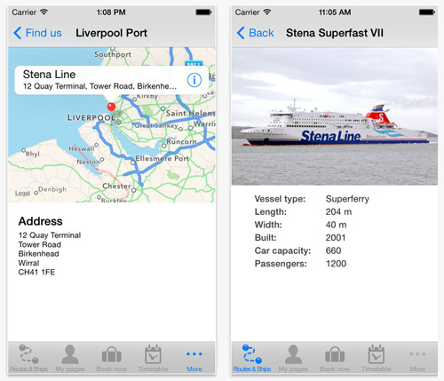 Stena Line Mobile App