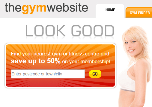 The Gym Website